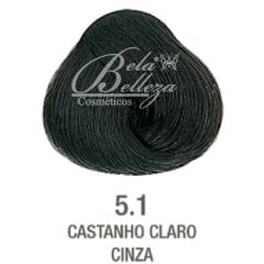 Tinta Evolution Alfaparf 60ml 5.1 Castanho Claro Cinza