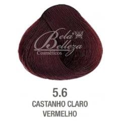 Tinta Evolution Alfaparf 60ml 5.6 Castanho Claro Vermelho