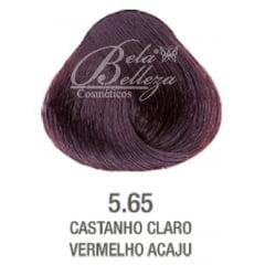Tinta Evolution Alfaparf 60ml 5.65 Castanho Claro Vermelho Acaju