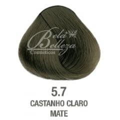 Tinta Evolution Alfaparf 60ml 5.7 Castanho Claro Mate