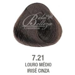 Tinta Evolution Alfaparf 60ml 7.21 Louro Medio Irise Cinza