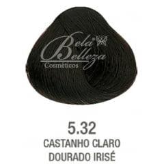 Tonalizante ColorWear Alfaparf 60ml 5.32 Castanho Claro Dourado irise