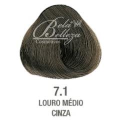 Tonalizante ColorWear Alfaparf 60ml 7.1 Louro Medio Cinza