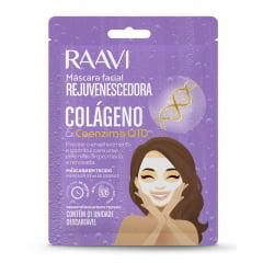 Mascara Facial Rejuvenescedora Raavi Colageno e Coenzima Q10