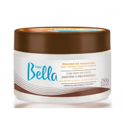 Mousse de Parafina Depil Bella 250g com Oleo de Coco