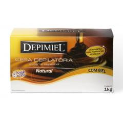 Cera Depimiel 1Kg Natural com Mel (4 potes 250g)