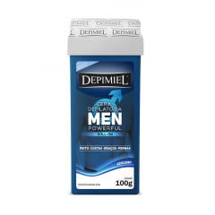 Cera Depimiel Roll-on 100g Men Powerful Azuleno