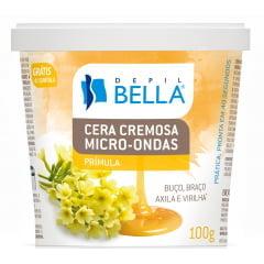 Cera Micro Ondas Depil Bella 100g Primula