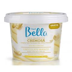 Cera Micro Ondas Depil Bella 200g Chocolate Branco