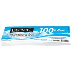 Papel para depilação Depimiel com 100 Lenco TNT