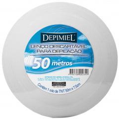 Papel para depilação Depimiel Rolo 50mt Lenco TNT