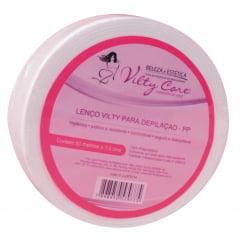 Papel para depilação Vilty Care Rolo 50mt Perlon Gramatura 60