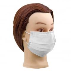 Mascara Descartavel Santa Clara com Elastico Branca c/25un
