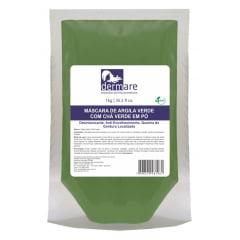 Argila Verde com Cha Verde Dermare Facial Corporal 1kg Detox