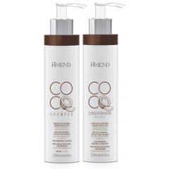 Amend Coco Kit Hidratacao e Suavidade Shampoo + Condicionador