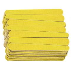 Lixa para unhas Santa Clara Canario Media Amarela 10cm