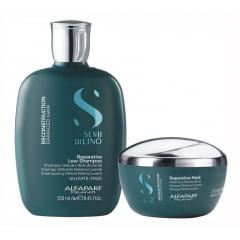 Alfaparf Semi di Lino Reconstrution Reparative Shampoo + Mask
