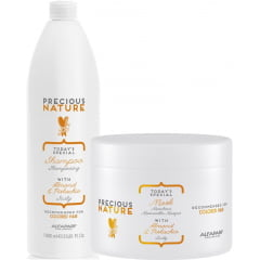 Kit Duo Precious Nature Alfaparf Colored Hair (1L+500ml)