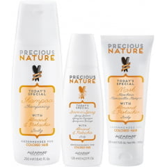 Kit Trio Precious Nature Alfaparf Colored Hair