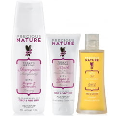 Kit Precious Nature Alfaparf Controle Toscana (Natural)